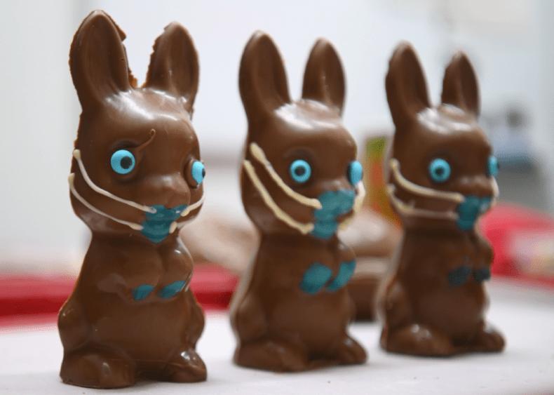 April 10: Pandemic Easter bunnies