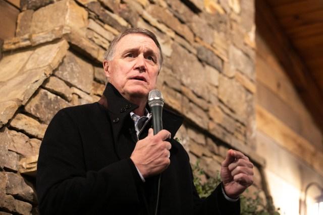 Republican Georgia Senate Candidates Perdue And Loeffler
