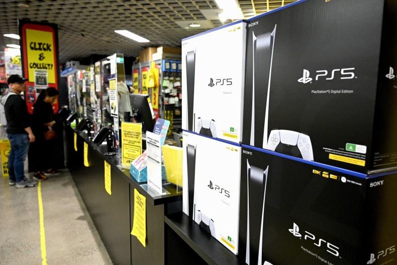 PlayStation 5 Sydney Australia store November 2020