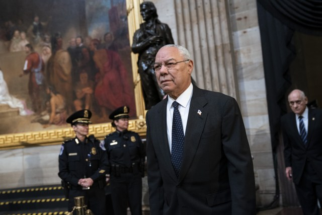 Colin Powell at the U.S. Capitol