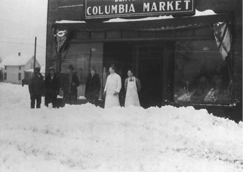 1937: Snowstorms in Oregon