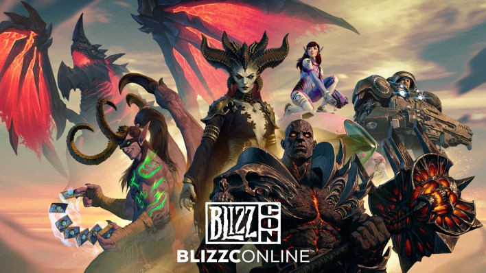 blizzcon 2021 start time schedule header