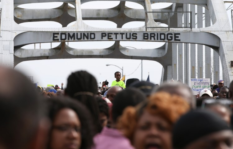 Selma, Alabama, Edmund Pettus Bridge, Bloody Sunday