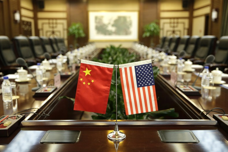 china, us, flags, agriculture, talks, beijing