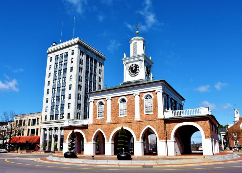 #33. Fayetteville, North Carolina (tie)