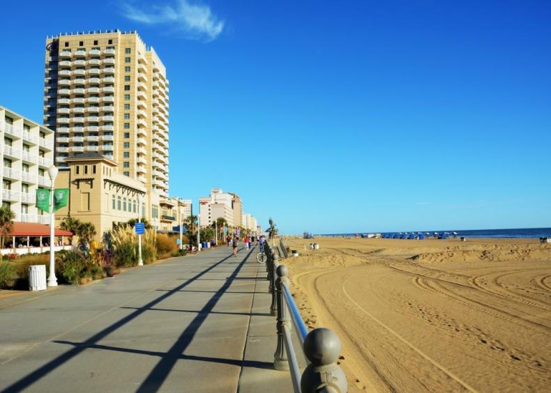 #15. Virginia Beach-Norfolk-Newport News, Virginia-North Carolina (tie)