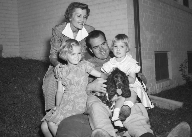1952: Nixon makes the Checkers speech