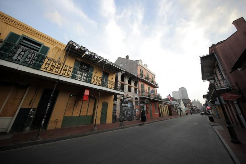 New Orleans April 2020
