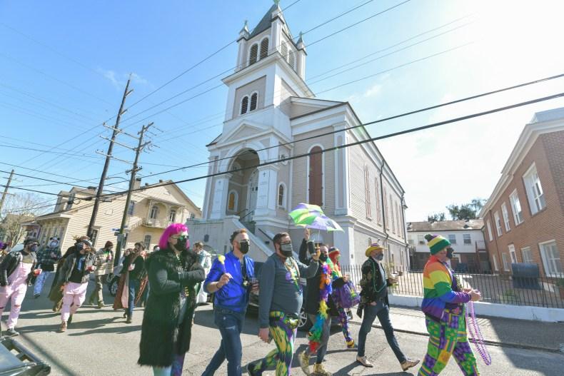 Mardi Gras New Orleans February 2021