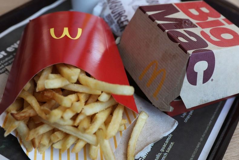 mcdonald's fast food $15 minimum wage