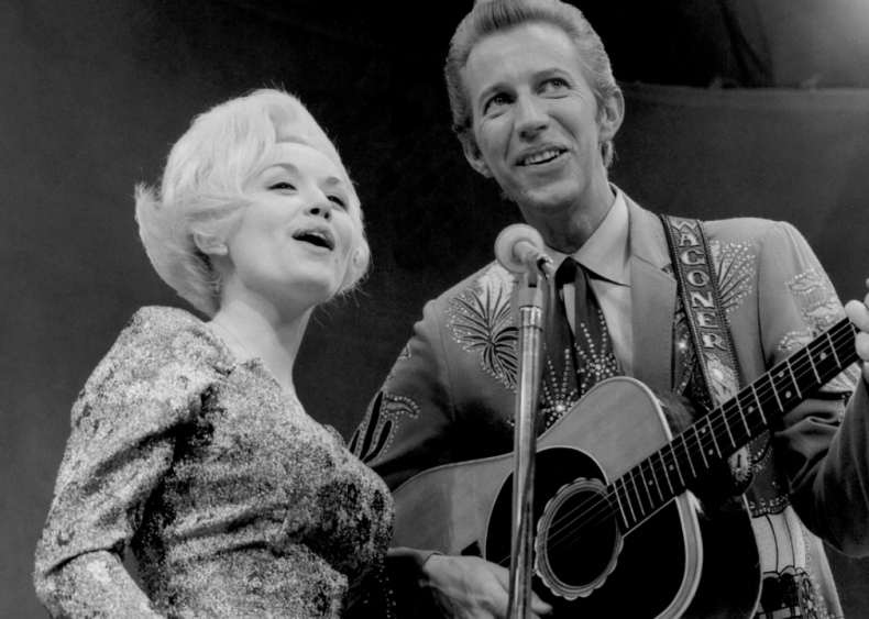 1970: Dolly Parton records her first Top 10 single