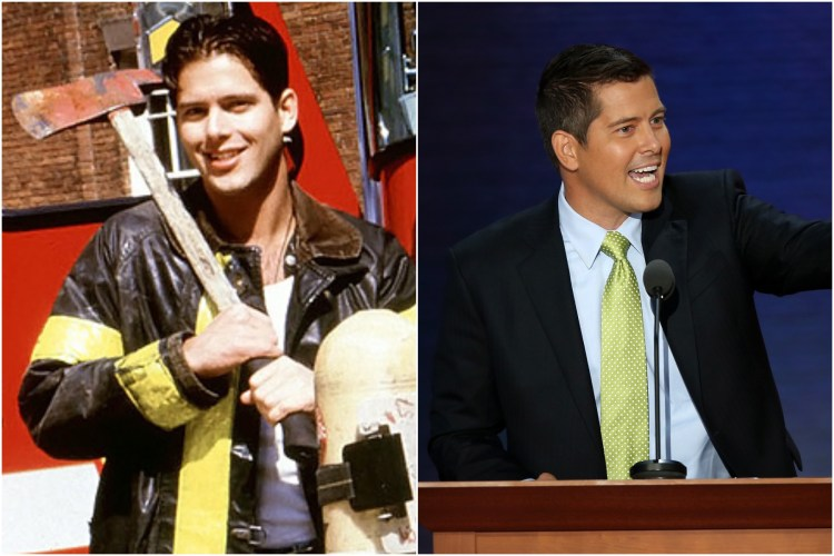 Sean Duffy then and now