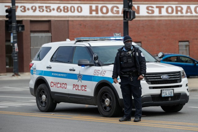 A Police Officer in Chicago