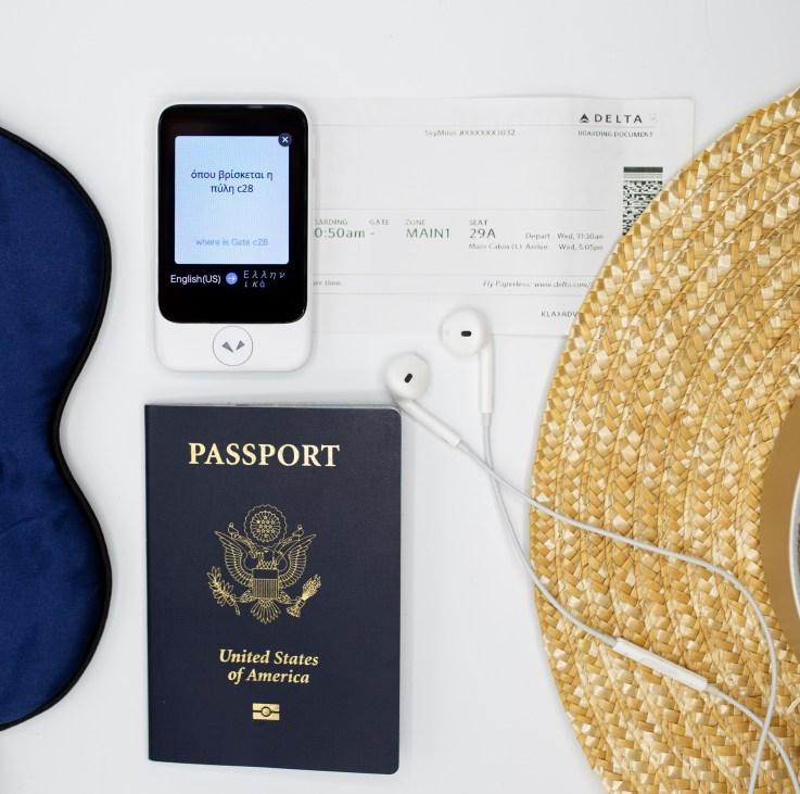 Pocketalk travel photo