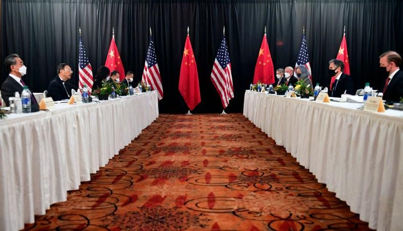 us, china, talks, alaska