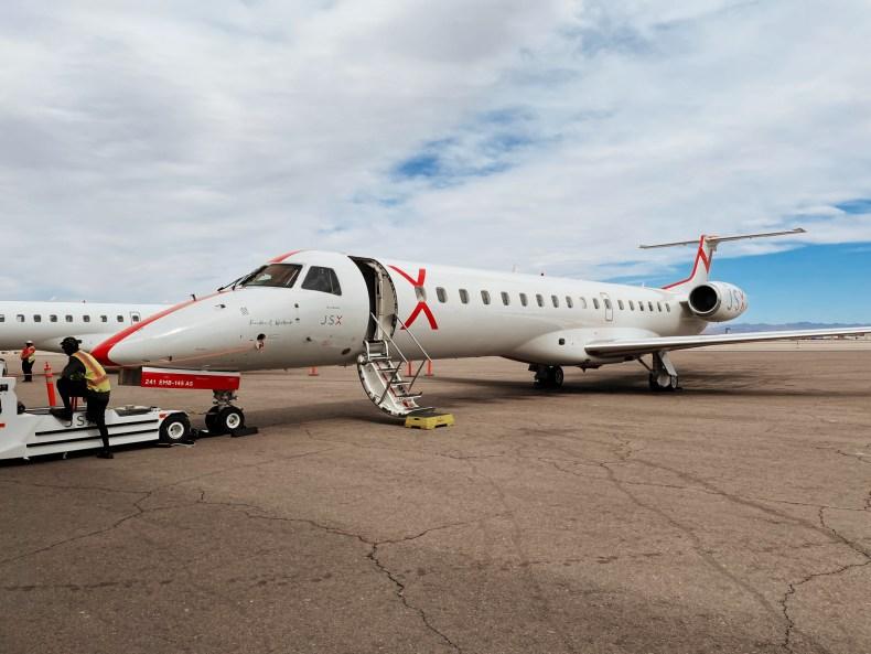 JSX airplane