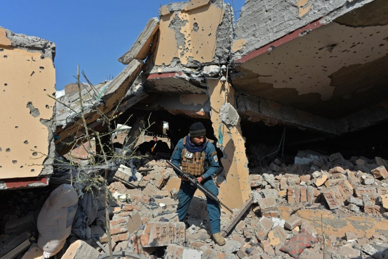 House Damaged in Afghanistan