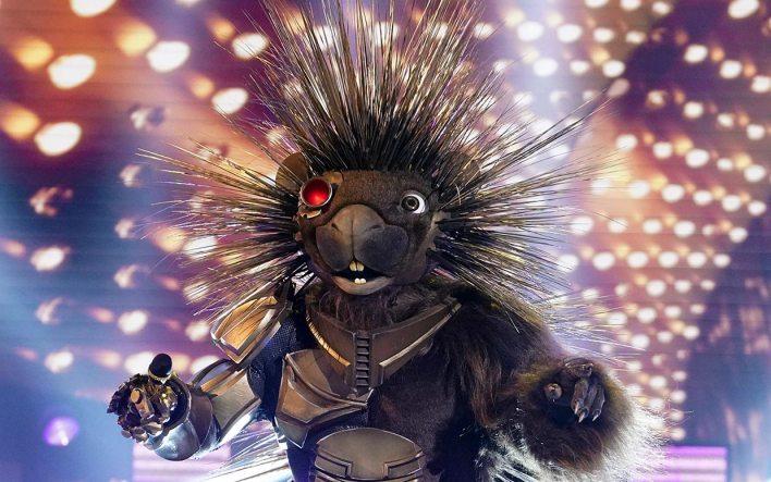 robopine masked singer