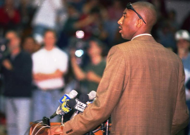 1996: Straight to the NBA