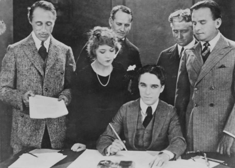 1919: Creation of United Artists studio