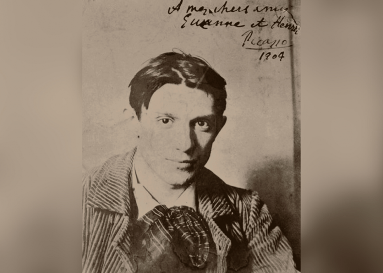 1901: Signing art as Picasso