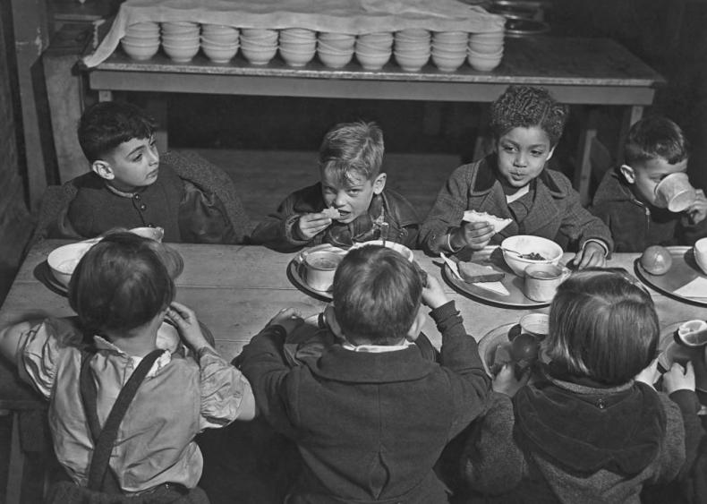 1946: The National School Lunch Act signed