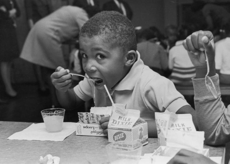 1966: School breakfast program begins