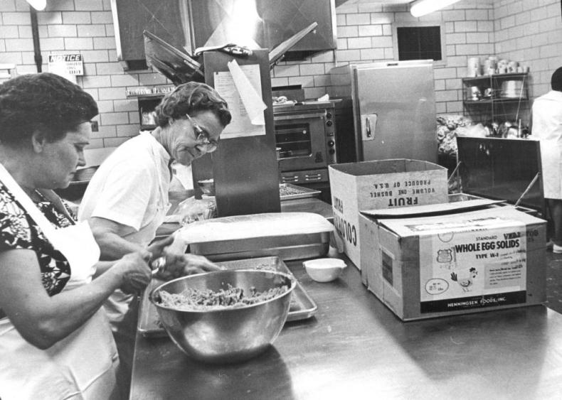 1968: Summer food program begins