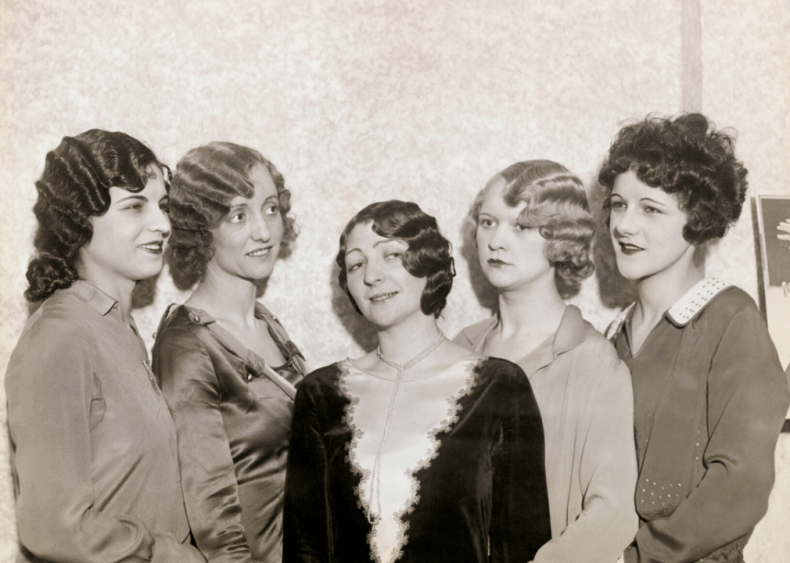 Women join in as 'Bernice Bobs Her Hair'