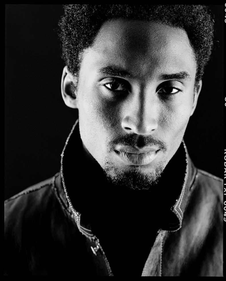 Kobe Bryant photographed by Chris Cuffaro