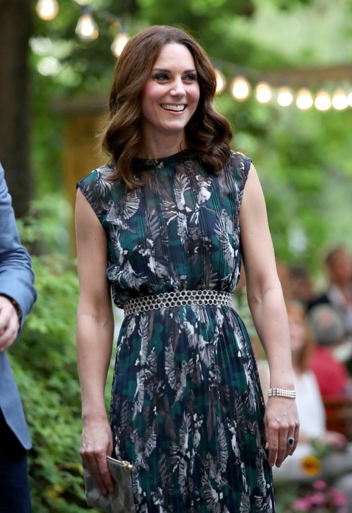 Kate Middleton in Diana's Bracelet