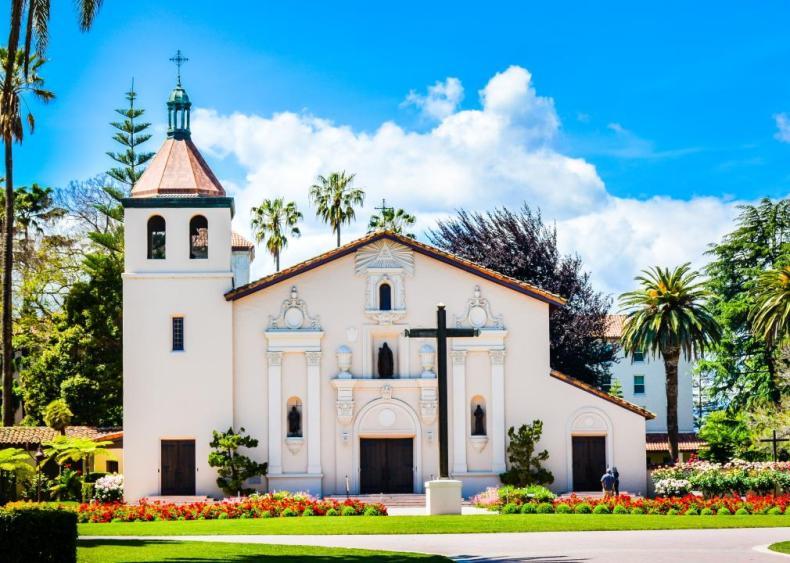 #9. Santa Clara University