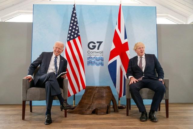 Joe Biden Boris Johnson Bike Wikipedia Picture