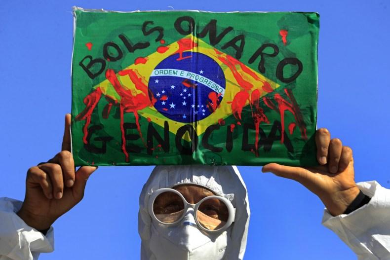 Protestor Brazil