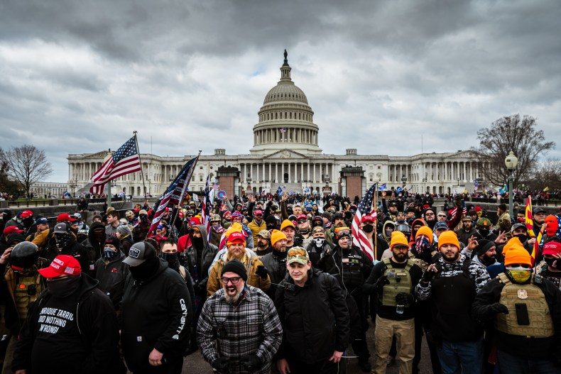 Trump Supporters 'Stop The Steal' Rally