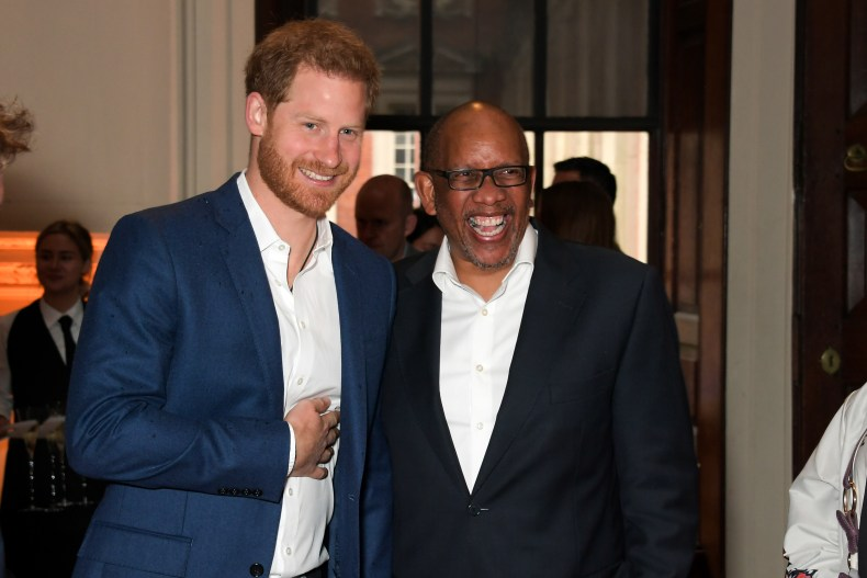 Prince Harry and Prince Seeiso