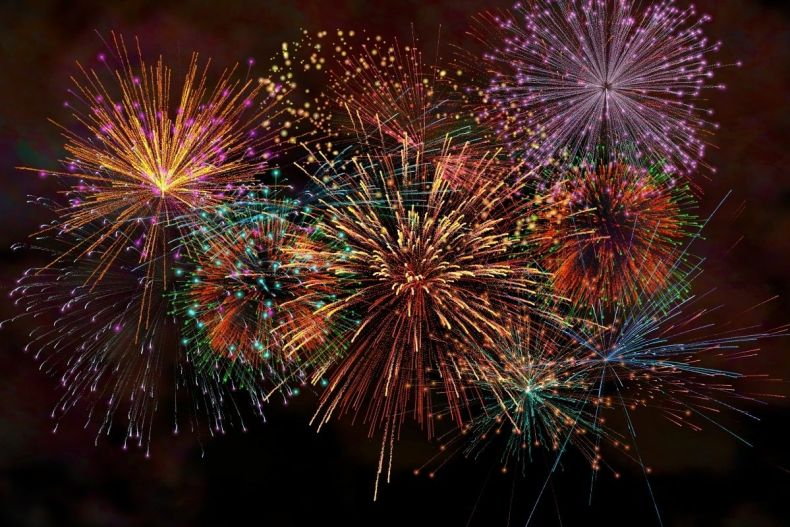 File photo of fireworks