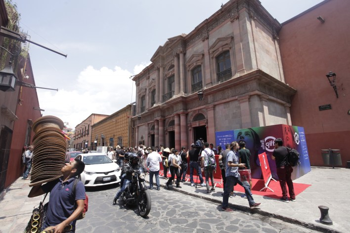 The Angela Peralta Theater in Mexico.