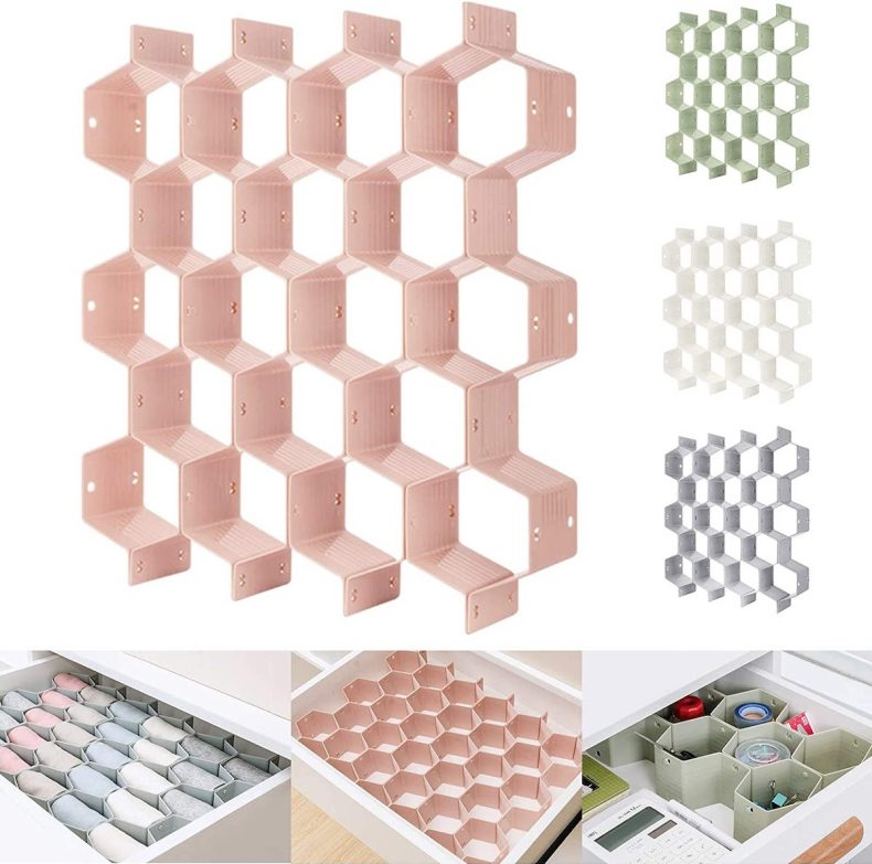 best home organization products honeycomb