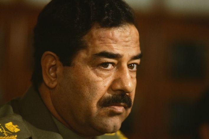 Saddam Hussein in 1983