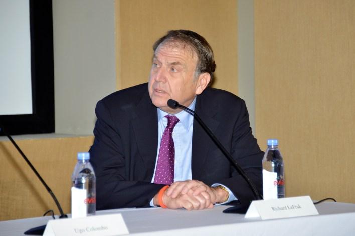 Richard LeFrak at NYC real estate summit