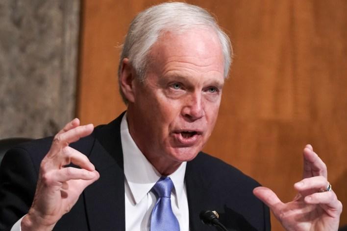 Ron Johnson Wisconsin 2020 election audit Powell