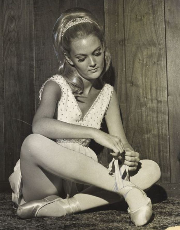 Pam Eldred in the 1960s