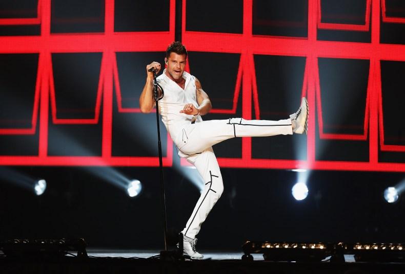 Ricky Martin performs in Sydney