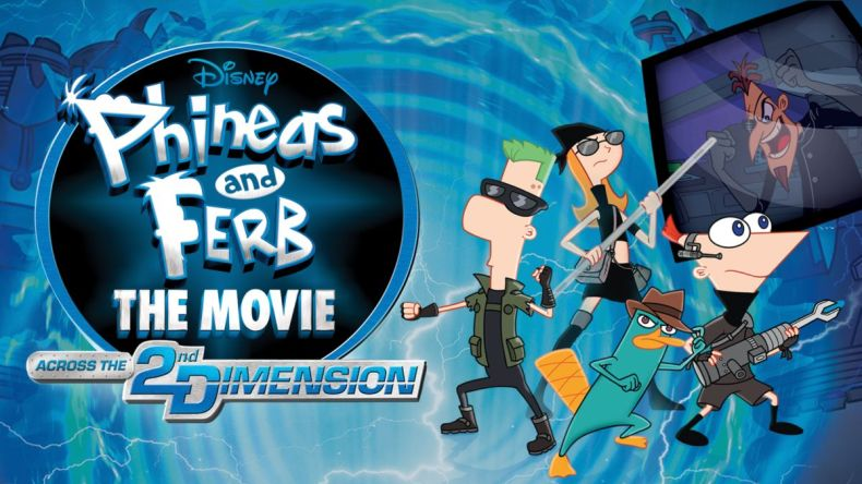 Phineas and Ferb the movie