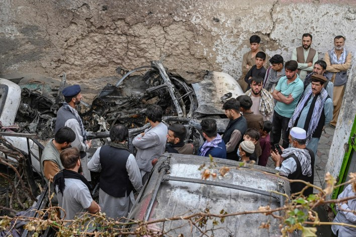 Kabul Drone Strike