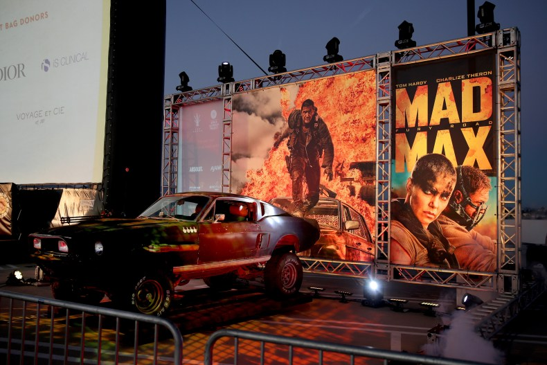 mad max drive in screening
