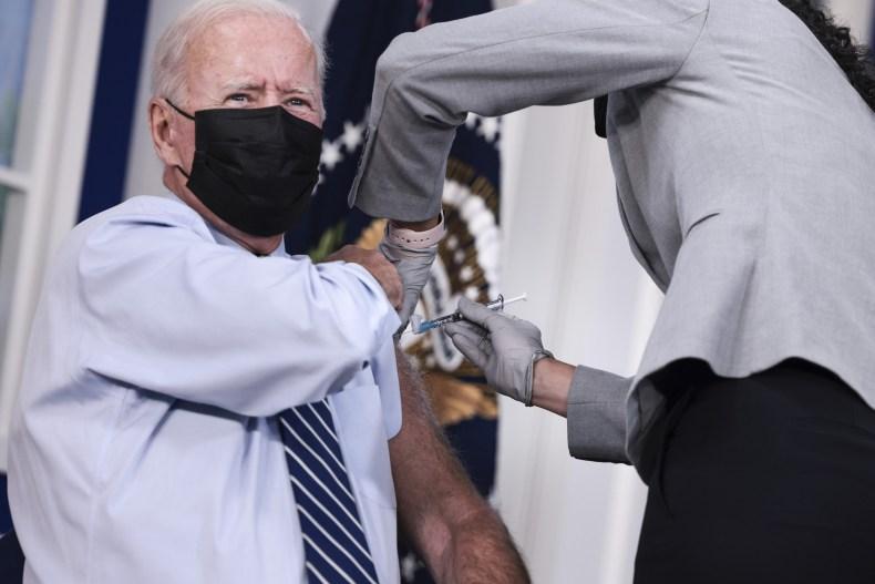 Joe Biden booster shot