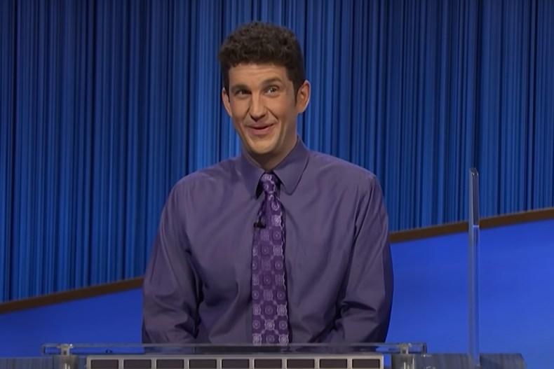 "Former ""Jeopardy!"" champ Matt Amodio"