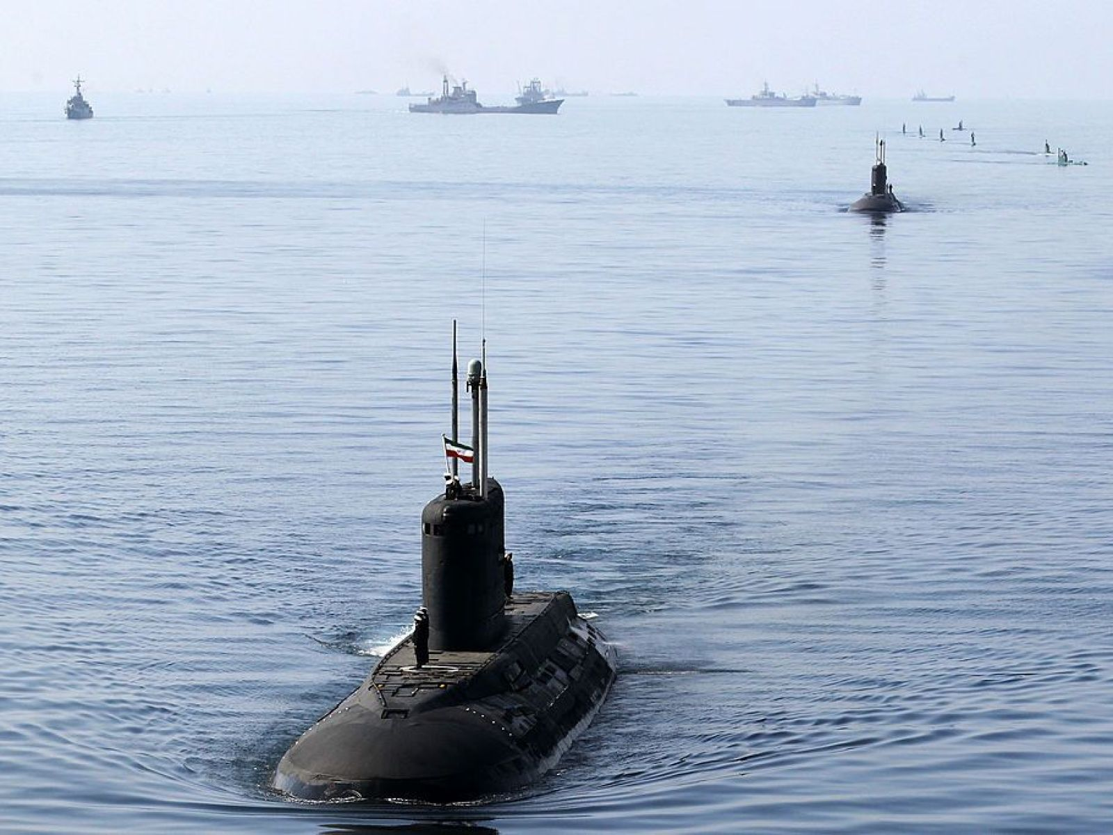 iran is building nuclear submarines and a new destroyer